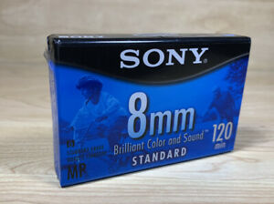 Sony 8mm Standard Grade 120 Minutes P6-120MPL Video Cassette Tape New Sealed