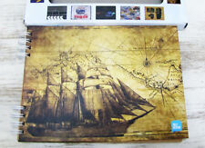 Free ship-Old galley pattern writing,drawing journal-photo album/Sketchbook-1pcs