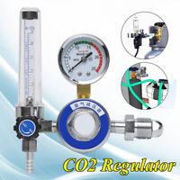 M12 G5/8 Argon CO2 GAS MIG TIG Flow Meter Welding Weld Regulator Gauge Welder