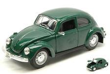 Volkswagen VW Beetle 1973 Green 1:24 Model MAISTO