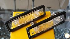 BMW E30 E12 E28 E24 E23 E26 E32 HELLA LICENCE PLATE LIGHT SET(2 PIECES)