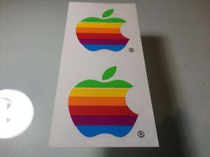 Vintage Apple Logo Sticker Decals