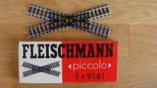 FLEISCHMANN Spur N Kreuzung 30°  9161 heller Schotter NEU/UNBESPIELT