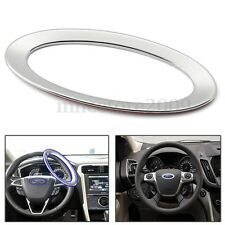 ABS Steering Wheel Decor Cover Ring Trim For Ford Focus 2 3 Fiesta Mondeo Kuga