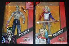 The JOKER & HARLEY SUICIDE SQUAD Movie DC Multiverse 12 inch Action Figures MIP