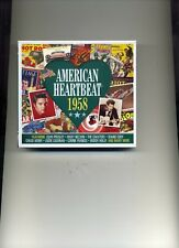 AMERICAN HEARTBEAT 1958 - BOBBY DARIN PEGGY LEE CHUCK BERRY ELVIS - 2 CDS - NEW!