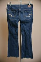 American Eagle Jeans Artist Low Rise Bootcut Medium Wash Women's size 6 Short