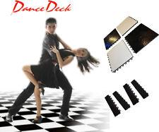 BRAND NEW PORTABLE BLACK & WHITE DANCE FLOOR 4 yard X 4 yard (12 X 12FT)