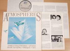 Atmosfere (Epic 1986 + INFO/A. Vollenweider, Sky, oblique/LP NEAR MINT)