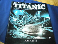 Hachette Build The Titanic Model Kit - binder or file for the magazines