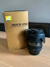 Nikon NIKKOR AF-S 16-85mm f/3.5-5.6mm ED VR Lens