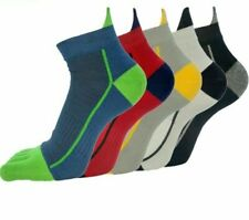 Toe Five Fingers Socks For Men Ankle Casual Standard 5 Pair/Lot Foot Accessories