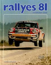 Buch Rallye Jahrbuch Schweiz book rallyes 81 Championnat Suisse Busset neuwertig