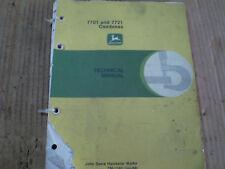 John Deere 7701 7721 Combine Service Manual Tractor