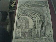 postcard card st michael and all angels stewkley bucks