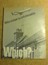 WHICH? - AIRCRAFT NOISE - Aug 1974