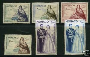 MONACO TIMBRES PA 73-78 NEUFS XX - LUXE