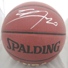 Spurs Manu Ginobili Signed Spalding I/O Basketball JSA