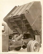 1943 Advertising Photo Lot of 2 Truck Dump Bed Body