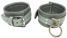 """50 Shades Of Grey Ankle Restraints Shades of Grey Genuine Leather  """"NEW"""""""