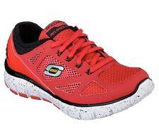 Skechers 95543L Fit Skech-Flex Reactors Sneaker Red/Black US Boys' 12.5