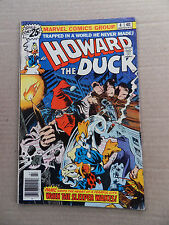 Howard the Duck 4 . Gene  Colan .  Marvel 1976 - FN +