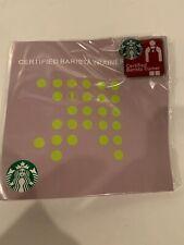 Starbucks Certified Barista Trainer Lapel Pin New