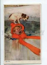 3013177 Puppy Jack Russell Terrier on Boy By Wood old Tuck