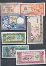 Malaysia Japanese Occupation Cambodia Pakistan China Banknotes UNC x25(R126