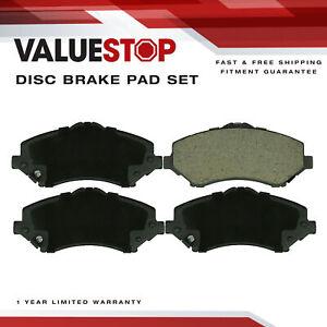 Front Ceramic Brake Pads for Dodge Nitro; Jeep Liberty, Wrangler, Wrangler JK