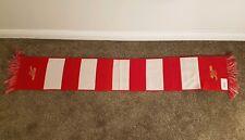 Arsenal Gunners Vintage Football  Scarf Bufanda Soccer Fancy Fan England 0056