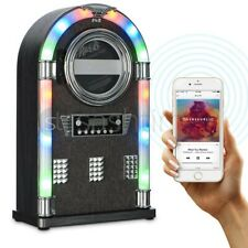 More details for new bluetooth jukebox tabletop cd player fm radio hifi stereo machine w remote