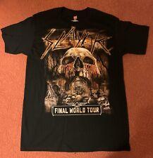 Slayer The Final Campaign Tour Shirt Ashville NC Medium Official Event Shirt