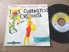 """DISQUE 45T DE LOS CUBANCITOS ORQUESTA  """" EL CANARIO """""""