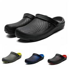 Mens Casual Slip On Garden Clogs Slingback Slippers Beach Sandals Shoes Summer B