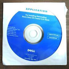 DELL INSTALLING/REINSTALLING ROXIO EASY CD CREATOR 5.01 BASIC