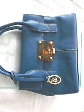 """Ladies """"Jane Shilton"""" Blue Small Handbag"""