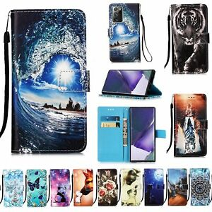 For Samsung Galaxy A02S A42 A32 A51 A71  Magnetic Flip Leather Wallet Case Cover