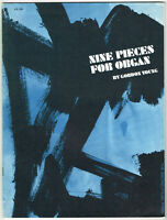 Nine Pieces for Organ by Gordon Young (1966, paperback, Sacred Music Press)