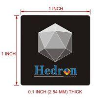 Pegatina escudo Hedron EMF EMR cuerpo dispositivo de protección contra la Radiación Shungite Anti