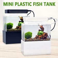Small Fish Tank Mini Aquarium Mini Fish Tank Dormitory Desktop Small Tank Filter