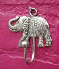ALUMINIUM  ELEPHANT ~ COAT HOOK ~ Made from Recycled Aluminium~ Eco Friendly