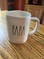 NEW RAE DUNN by Magenta PAPA Coffee Tea Mug Farmhouse Summer Home Decor