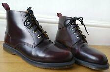 Dr. Martens Emmeline Boots UK9 EU43 US11 la E up reddened brown semi round toe