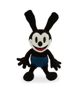 Disney Parks Oswald the Lucky Rabbit Knit 11 inc Plush New with Tag