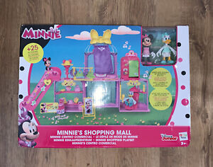 Disney Junior MINNIE MOUSE Figure Shopping Mall Playset Mickey Lights & Sounds