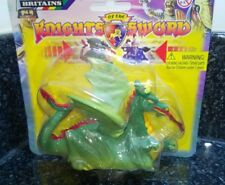 Britains Knights Of The Sword  Power Dragon pull back action carded new