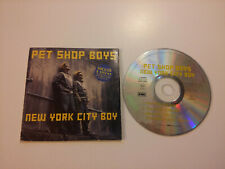 PET SHOP BOYS New York city boy  single 3 tracks