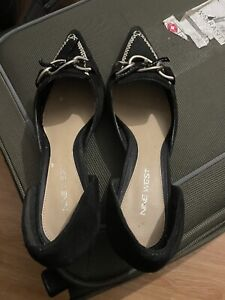 Unboxed Nine West Black Heel Shoes with Size 8/41