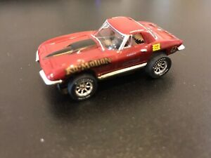 NEW Model Motoring HTF 1967 KO MOTION Corvette, TJET style body only  $18.99